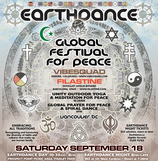 Earthdance partial poster